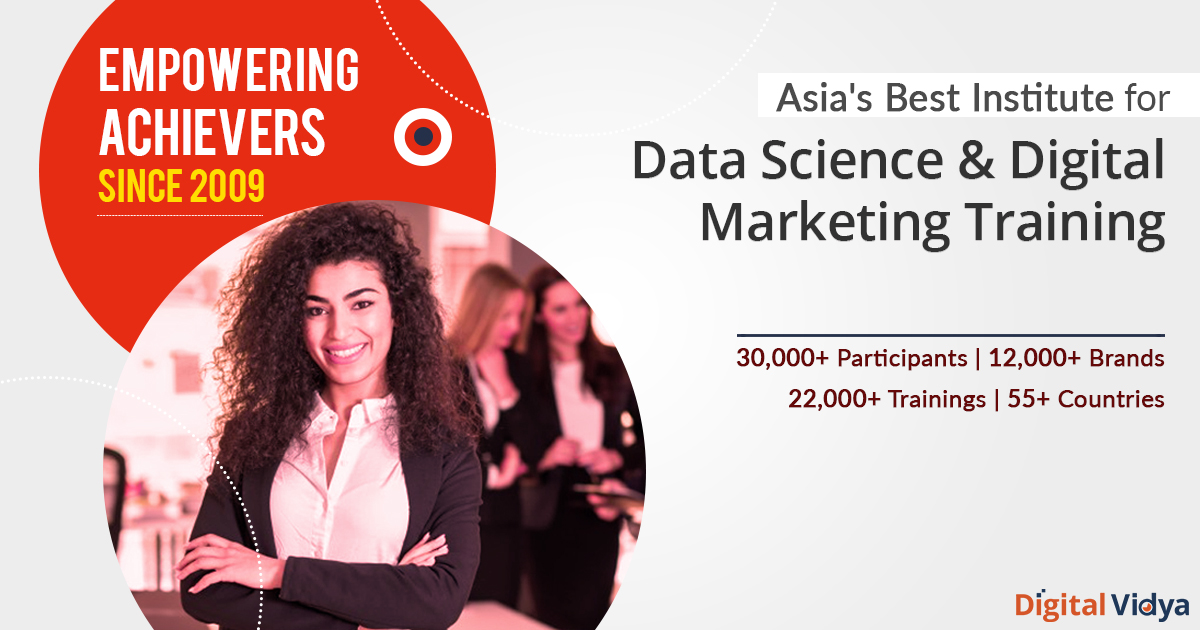 A Global Leader In Digital Marketing Data Analytics Training Courses