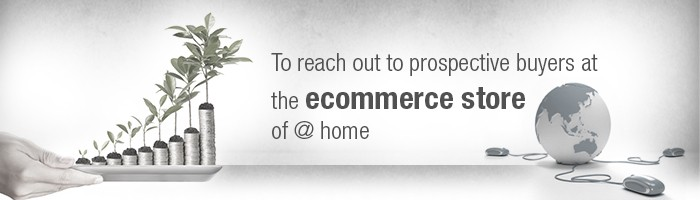 To reach out to prospective buyers at the ecommerce store of @ home
