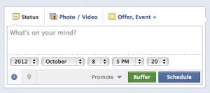 Facebook Content Schedule Planner