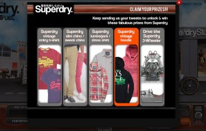 Superdry prizes