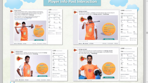 player info post interacction