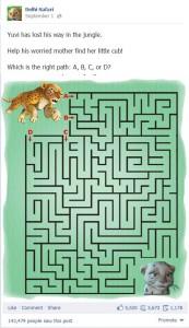 DS maze game