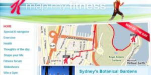 Map my fitness