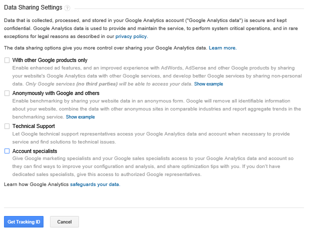 Get Tracking ID_ Google Analytics