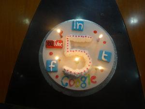 DV 5 years cake