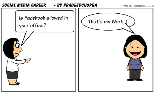 career in social media