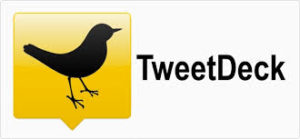 old tweetdeck logo