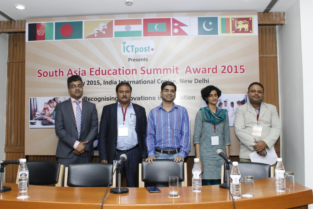 Speakers at South Asia Education Summit Awards 2015