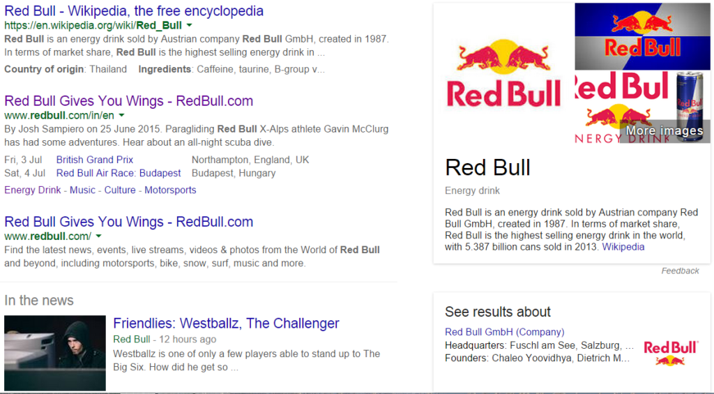 red bull case study marketing When it comes to building brand awareness, red bull knocks it out of the park with their cliff jumping event coverage and branding strategy.