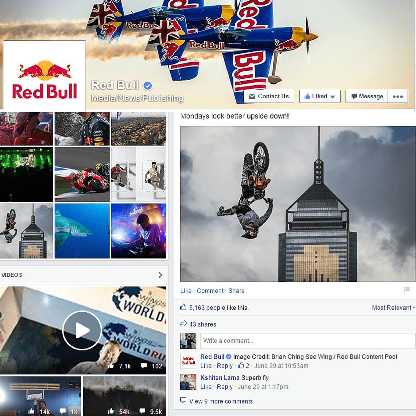 marketing activities by redbull Red bull has been famous for building a beverage brand without relying on mass -media the central component in all marketing activities of red bull was.