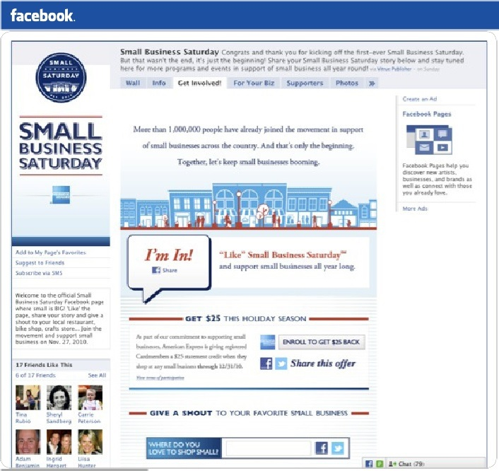 Small business sat Ad