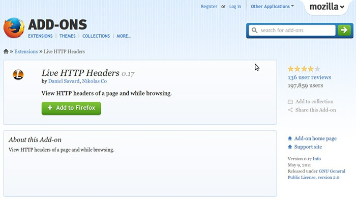 Live-HTTP-Headers-for-Firefox