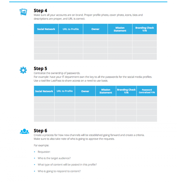 Learn To Create ResultOriented Social Media Marketing Plan Template – Account Plan Template