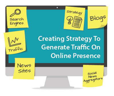 Creating Strategy to Generate Traffic on Online Presence