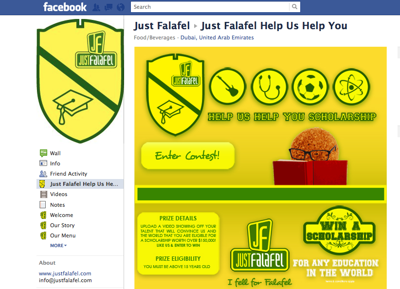 JustFalafel FB