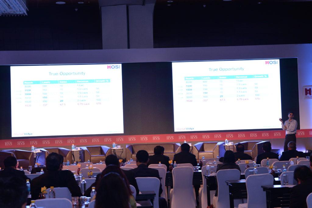 Pradeep Chopra Speaking at Hotel Operations Summit India (HOSI) 2016