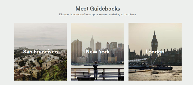 AirBnB Guides