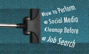 clean up social media to get job interview