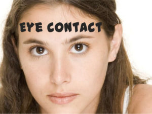 how to maintain eyecontact