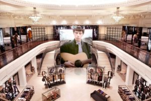 Burberry Flagship Store interior