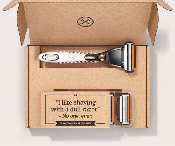Dollar Shave Club Product Pack