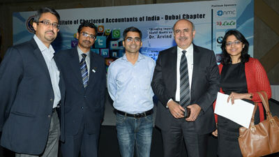 Pradeep Chopra at ICAI Dubai Chapter