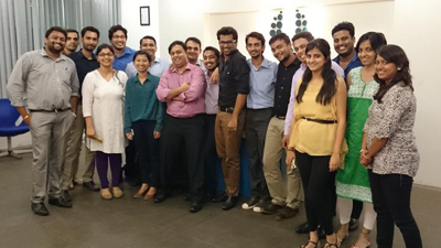 Digital Marketing Workshop at UBM (Mumbai)