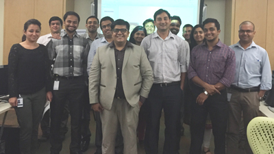 Digital Marketing Workshop at Fidelity (Bangalore)