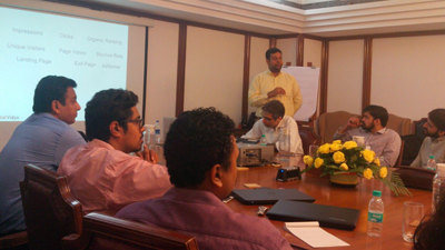 Digital Marketing Workshop at Mahindra (Mumbai)