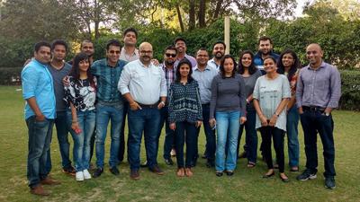 Digital Marketing Workshop at Network18 (Gurgaon)