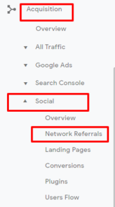 Acquisition<Social<Network Referrals