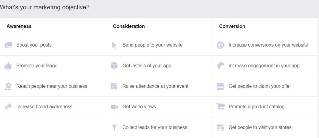 defining-your-facebook-marketing-objective