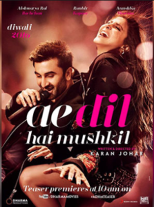 Ae Dil Hai Mushkil_Facebook Advertising