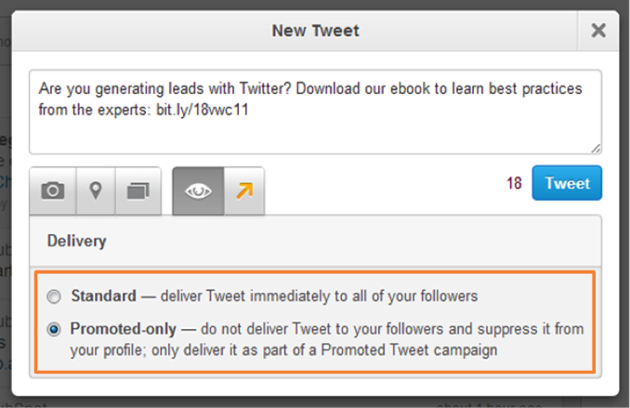 select-delivery-type-promoted-only-for-your-tweet-to-run-your-twitter-ad-campaign