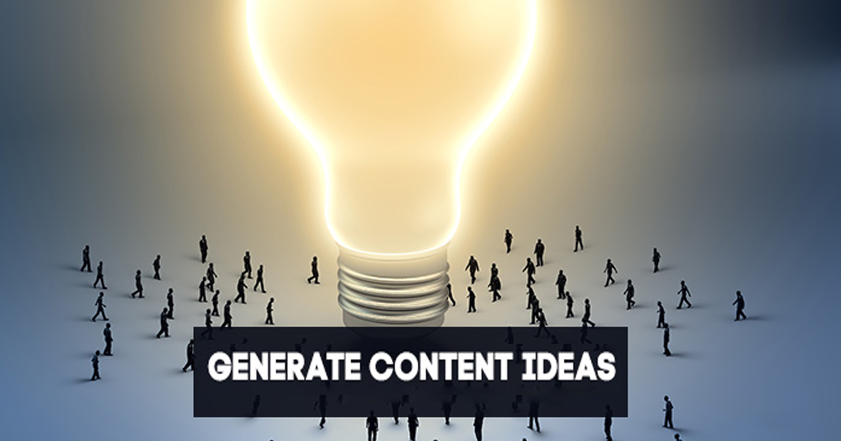 3 Easy Methods For Content Idea Generation