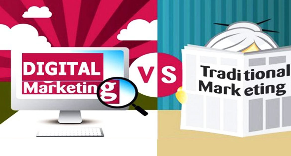 digital vs traditional marketing Are you living your life in the fast lane keeping up with all of the technological changes that are continuously taking place or are you still living life by.