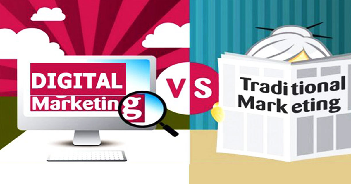 How Digital Marketing is more efficient than Traditional Marketing?