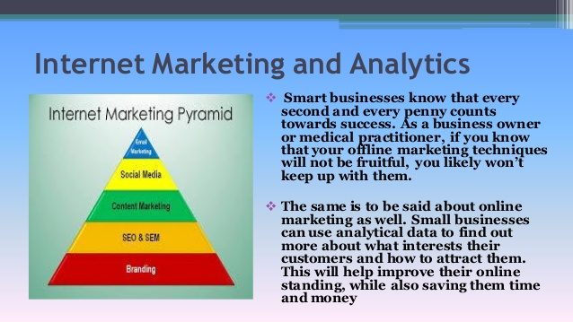advantages of internet marketing