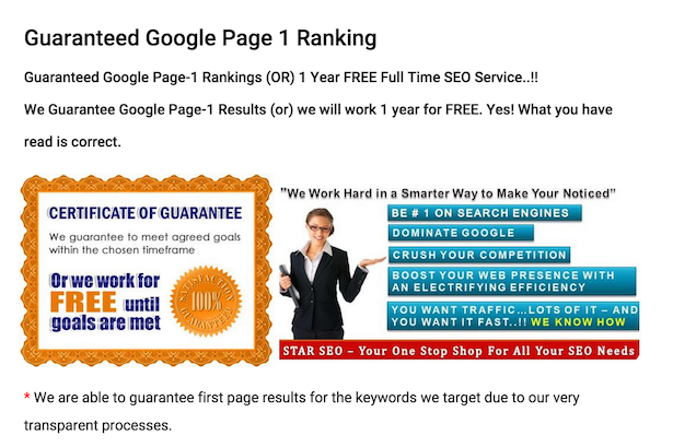 [Image2- beware of Ranking guarantees of SEO service for small business- source-searchenginewatch]