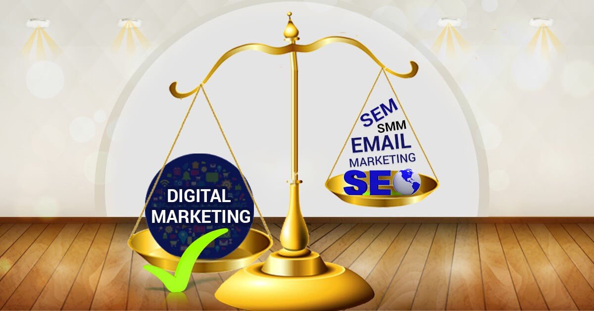 Should I learn everything in Digital Marketing or only SEO, SEM or Social Media Marketing?