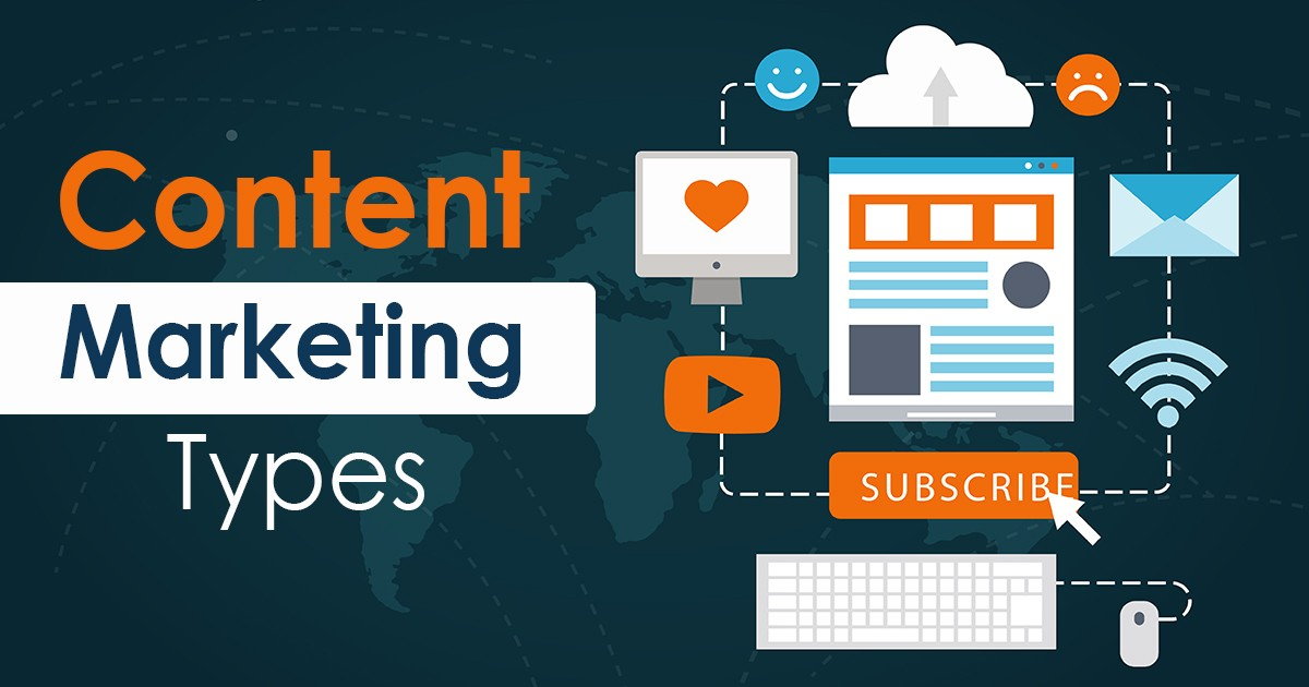 15 Content Marketing Types to Help Your Business Grow