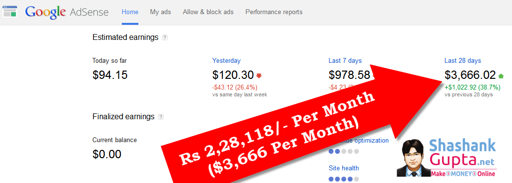 earn money from google adwords