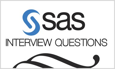 SAS Interview Questions Source: Intellipaat