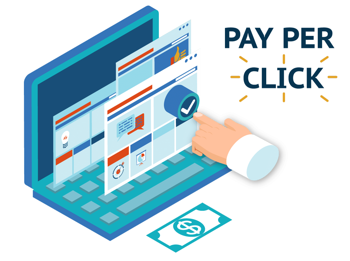 Image result for Pay- per- Click