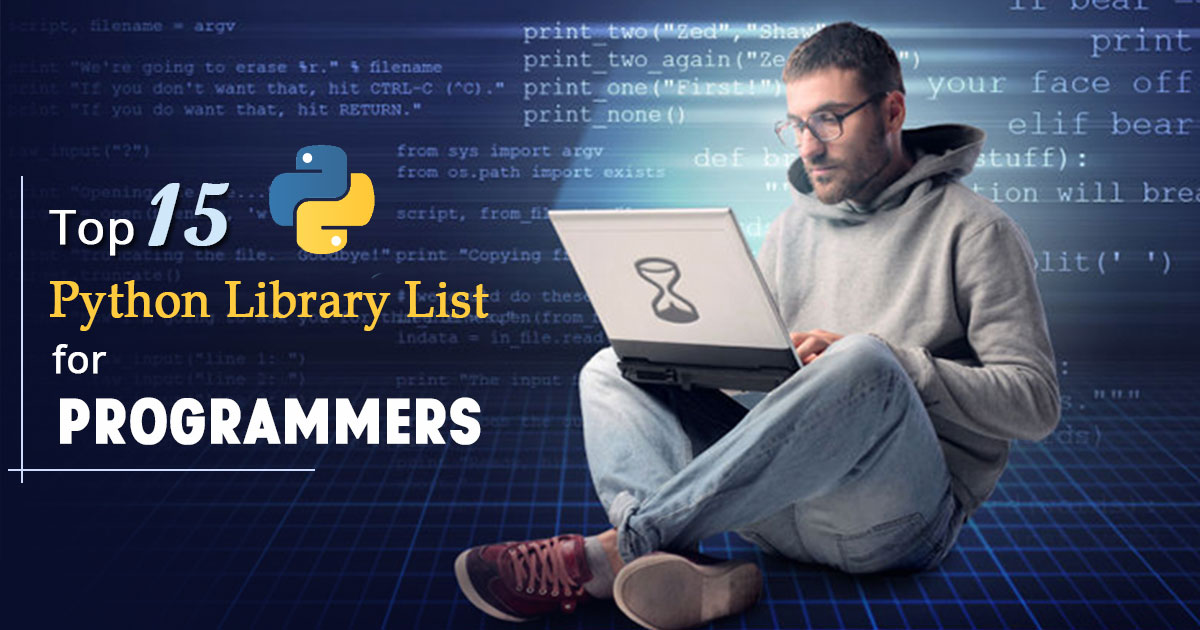 Top 15 Python Library List for Programmers