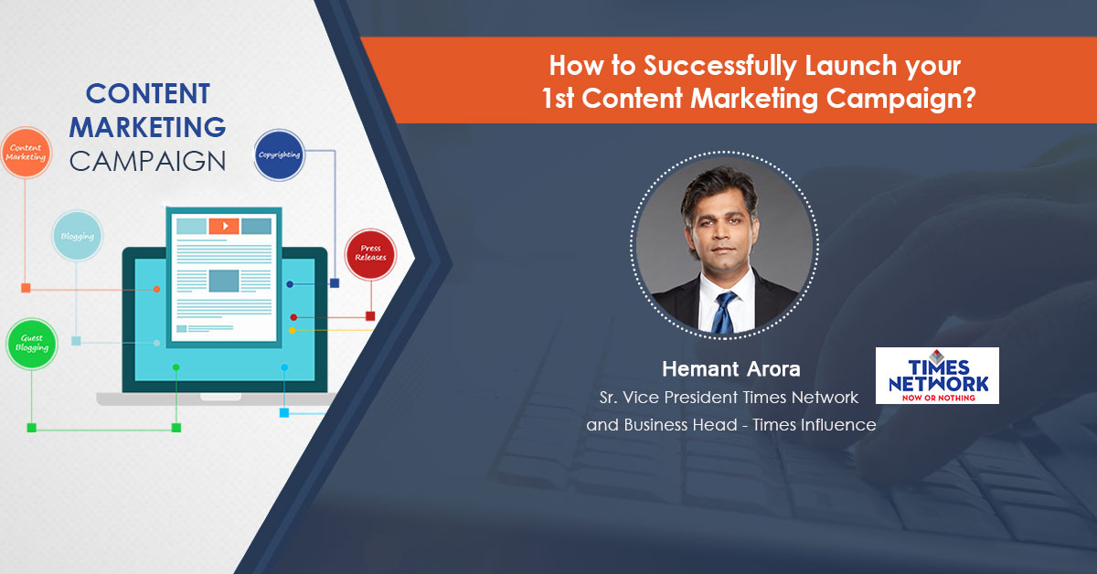 How to Successfully Launch your First Content Marketing Campaign: Webinar Recording