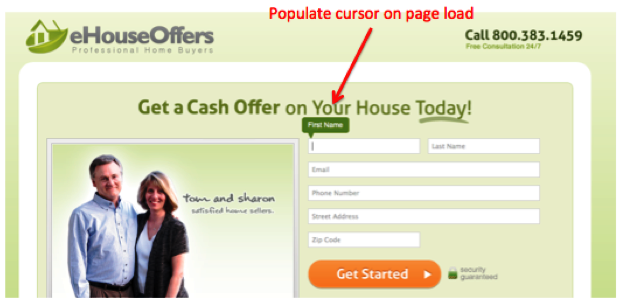 eHouseOffers home page