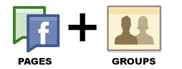 Facebook Groups & Facebook Pages