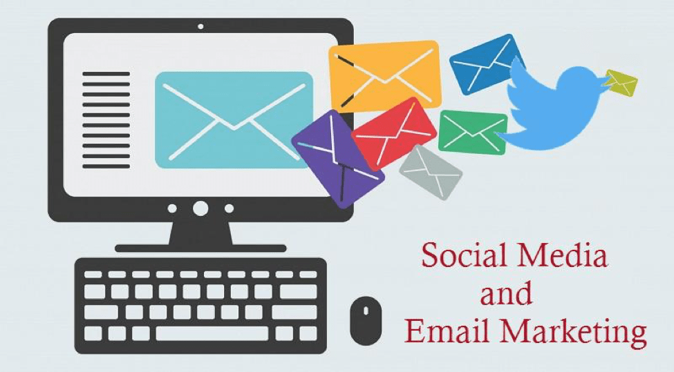 6 Creative Ways to conjugate Social Media and Email Marketing