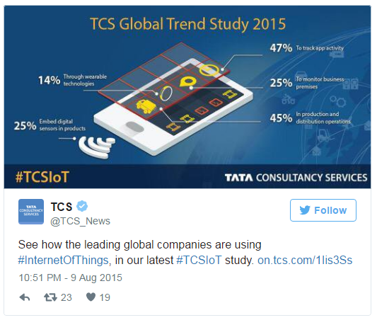 Internet of things case study